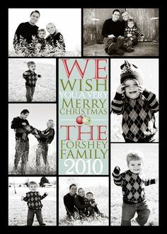 Hey, I found this really awesome Etsy listing at https://www.etsy.com/listing/62799761/holiday-card-salephoto-collage-holiday