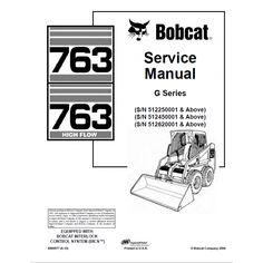 Bobcat 463 Loader Service Manual Download 519911+