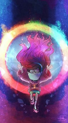 Colorful Mable - Gravity Falls