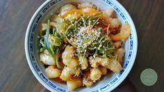 Jacki's Feed - Seaweed Prawn Salad