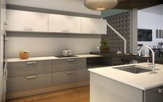Kitchen Cabinets, Table, Furniture, Home Decor, Kitchens, Blog, Small Kitchens, Modern Kitchens, Kitchen Units