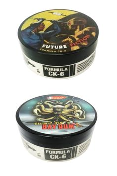 Phoenix Artisan Accoutrements Atomic Age Bay Run & Future Fiction CK6 shaving soaps are now available at Agent Shave! Bay Rum, Soap Maker, Shaving Soap, Atomic Age, After Shave, Dog Bowls, Soaps, Phoenix, Fiction