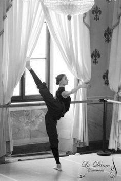 Svetlana's arabesque...that doesn't even make sense...