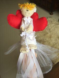 Buquê Anjo Cupido, para a daminha.