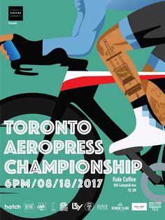Canada (Toronto) Aeropress Champs 2017