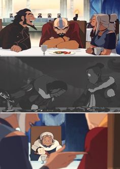 The legend of Korra/ avatar the last Airbender: siblings teasing each other :)<<<nO it's referring to how Katara misses Sokka when she sees the siblings talk ; Avatar Aang, Team Avatar, Avatar The Last Airbender, Blade Runner, Little Wich Academia, Manga Anime, Avatar Series, Iroh, Korrasami