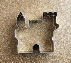 Sand Castle Cookie Cutter by CupcakeSocial on Etsy