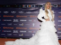 Lady Gaga, Eurovision Song Contest, Bilal Hassani, Queen, White Outfits, Tgirls, Crossdressers, Transgender, Lingerie