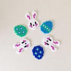 Easter hama beads by helenasolskin Perler Patterns, Easter Crafts, Perler Beads, Instagram, Design
