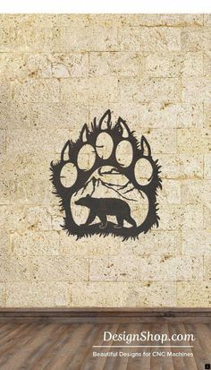 Paw Wall Art – Cut from metal with CNC. This DXF file is designed for CNC Plasma… Paw Wall Art – Cut from metal with CNC. This DXF file is designed for CNC Plasma, Laser, or waterjet machines. Plasma Cutter Art, Metal Tree Wall Art, Metal Artwork, Desenho Tattoo, Colorful Wall Art, Bear Paws, Wall Sculptures, Tree Sculpture, Lovers Art