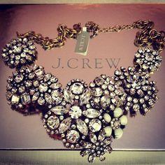 { J.Crew statement necklace }