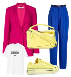 Fresh coat - pink coat by elksyu on Polyvore featuring мода, Givenchy, Joseph, Converse and Loewe