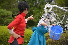"ramenuzumaki: "" Ranma ½ Cosplay ~ Ranma and Akane. They love each other  """