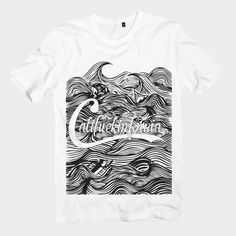 T-Shirt Califuckinfornia Big Wave