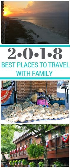 Where should your family travel in 2018? There are so many great family friendly destinations, right here in the USA! See which ones made the list for the best places to travel with family in 2018! #familytravel #travel #springbreak #familyfriendly #TravelDestinationsUsaFamilyVacations #BestTravelDestinationsUsa