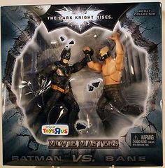 Batman Dark Knight Rises Movie Masters Exclusive Deluxe Action Figure 2Pack Batman Vs. Bane