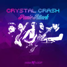 """#Panic Attack. The ultimate electropop hymn coming from Mira Hearts studios, is the first single by Crystal Crash, 5 boys from Florence city, dedicated to all the """"Monsters on the dancefloor"""". Visit our web: http://hearts.miraloop.com/ #rockband #popmusic #electrorock #music #label #bologna #italy"""