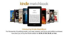 Amazon's Kindle Matchbook Offers Cheap Ebook Versions of Books You Own