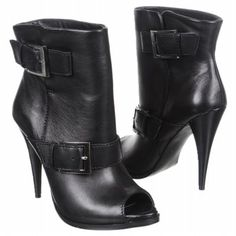 Jessica Simpson Dakee Boots (Black Leather) - Women's Boots - 8.0 M