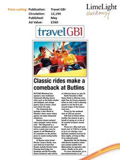 May - Travel GBI - Butlins, Haven & Warner News