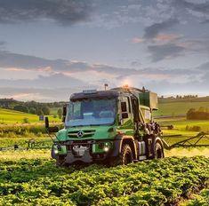 Mercedes Benz Unimog, Daimler Benz, Heavy Equipment, Tractors, Trucks, Tools, Building, Vehicles, Agriculture