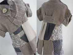 jaket patchwork old sweater - Google Search