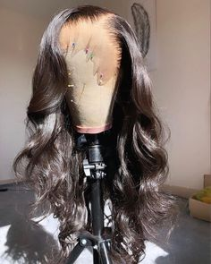 Brazilian Remy Hair Wave Lace Front Wigs with Baby Hair Virgin Hair Full Lace Wigs - Human Hair Lace Wigs Curly Hair Styles, Wig Styles, Natural Hair Styles, Natural Wigs, Human Hair Lace Wigs, Curly Wigs, Human Wigs, Danse Twerk, Long Hair Waves