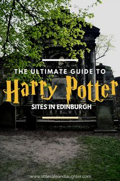Potterhead's Guide to the Harry Potter Tour in Edinburgh The ultimate guide to Harry Potter sites in Edinburgh Scotland. Everything you need to know about where to go and what to see that inspired J. Rowling in this magical city! England And Scotland, Edinburgh Scotland, Scotland Travel, Scotland Trip, Edinburgh Harry Potter, Harry Potter Tour, Travel With Kids, Family Travel, Sightseeing London
