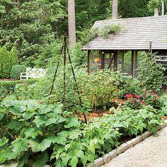 The Vegetable Garden Dream Garden It Even Has A Chicken Coop