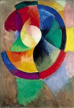 Robert Delaunay, Formes circulaires, Soleil n°2, 1912-1913