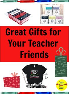 Buying great gifts for your teacher friends can be a challenge. Check out these special and personalized gift ideas. Teacher Lesson Planner, Teacher Blogs, Your Teacher, Best Teacher, Teaching Tips, Teaching Reading, My Dream Team, Classroom Supplies, Teacher Organization