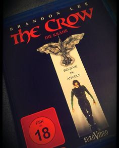 this was probably the most influential movie as a teen and in my life! and now yeah, i can finally watch it in bluray! 😁📺📀 #thecrow #brandonlee #favoritemovie #mymostfavoritemovie #mostfavorite #ilovemovies #ebay #ebaybargain #bargainoftheday #bluray #dvd #collection #bluraycollection #mostinfluentialmovie #gothic @jyrki69 #the69eyes #bestlovestoryever