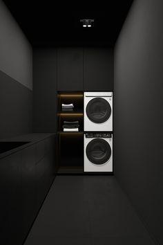 Laundry Room Design, Home Room Design, Dream Home Design, Interior Desing, Interior Design Services, Modern Laundry Rooms, Dream House Interior, Bathroom Design Luxury, Laundry Room Organization