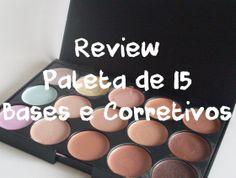 Review paleta de 15 bases e corretivos | Jess Ferreira
