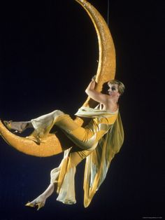 Angela Lansbury.  Oh that lady in the moon