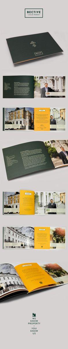 Bective Leslie Marsh Corporate Brochure on Behance