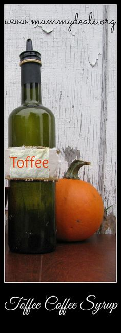 Toffee Coffee Syrup is just a couple of ingredients to jump start your morning!