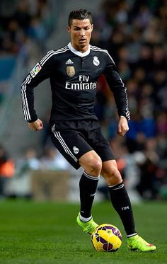 Cristiano Ronaldo - third highest scorer in Real Madrid's history as of today, February 23, 2015!
