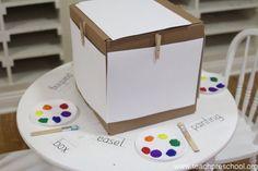 The best DIY easel ever! | Teach Preschool