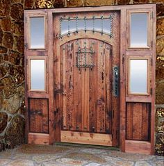 Door with Speakeasy - Arenberg Castle Style 13th Century Leuven
