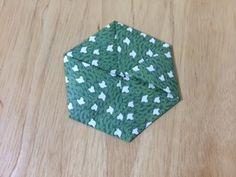 折り紙 六角形折り 難易度★☆☆ origami Hexagon Level one - YouTube