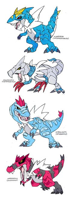 Tyrantrum Crossbreed by darksilvania.deviantart.com on @DeviantArt