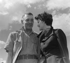 Clark Gable & Ava Gardner Mutiny On The Bounty, It Happened One Night, Old Money, Clark Gable, Ava Gardner, Grown Man, Gone With The Wind, Charles Bukowski, Music Tv