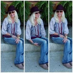 FLOPPY HAT and FLARES
