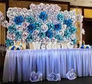 Resultado de imagen para flores gigantes de CARTULINA