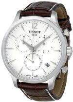 Tissot T Classic Tradition Chronograph Silver Dial Mens Watch #Watches