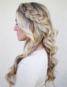Nice wedding hair