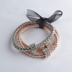 3 Piece Set Multilayer Women's Bracelet Retail – RIngs