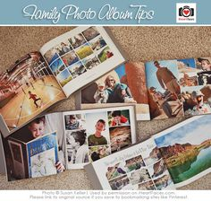 Making Your Own Family Photo Album - Photography & Design Tips via iHeartFaces.com
