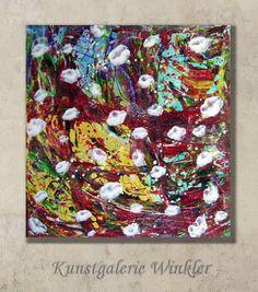 Acrylbild abstrakt Gemälde Unikat Dekoration Neu  von Kunstgalerie Winkler auf DaWanda.com